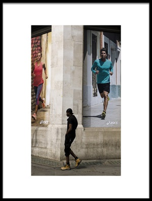 Buy this art print titled Run by the artist Lorenzo Grifantini
