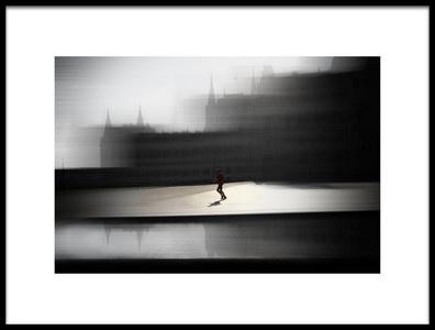 Art print titled Runner by the artist Zsóka Lorincz