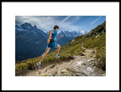 Art print titled Running With Sebchaigneau by the artist Tristan Shu