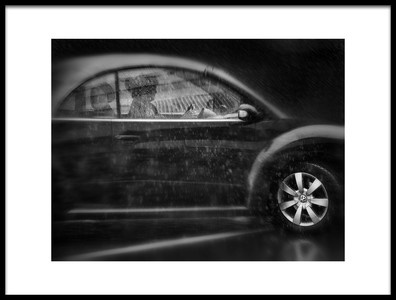 Art print titled Safe Through the Rain by the artist Marc Apers