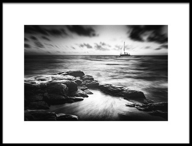 Art print titled Sailing By by the artist Gustav Davidsson