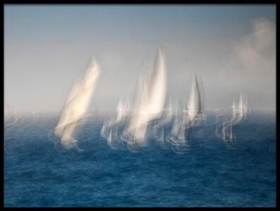 Art print titled Sails by the artist GARCIA dominik