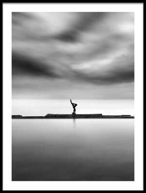 Buy this art print titled Salamba Sirsasana 04 by the artist George Digalakis