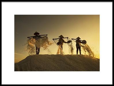 Art print titled Salt by the artist Nese Ari