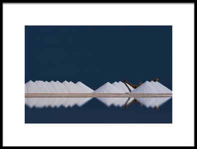 Art print titled Salt Production by the artist Rolf Endermann