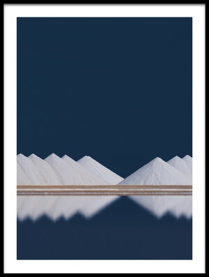 Buy this art print titled Salt Production by the artist Rolf Endermann