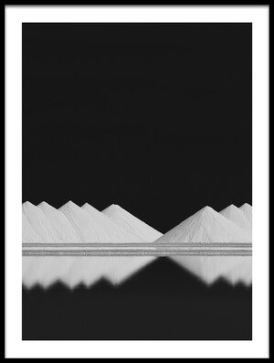 Buy this art print titled Salt Production BW by the artist Rolf Endermann