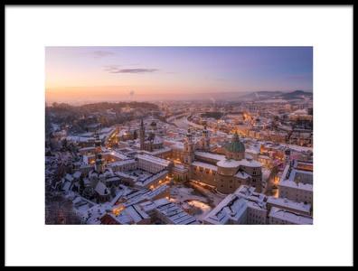 Buy this art print titled Salzburg by the artist Richard Vandewalle