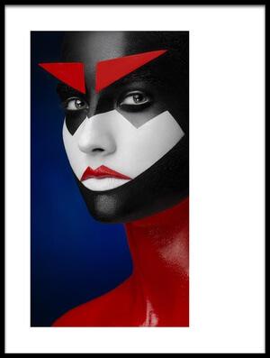 Art print titled Samurai by the artist Alex Malikov
