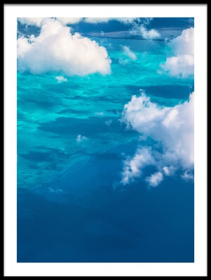 Art print titled Sand Beach Meets Ocean II by the artist David D
