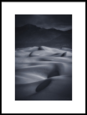 Buy this art print titled Sand Dunes by the artist Michael Zheng