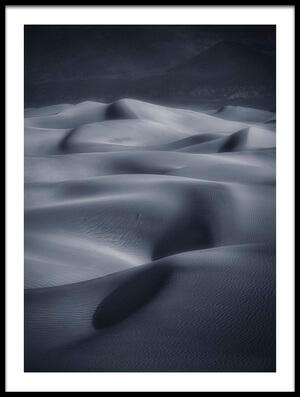 Art print titled Sand Dunes by the artist Michael Zheng