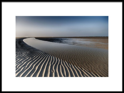 Art print titled Sandlines by the artist Tineke Visscher