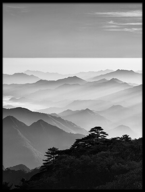 Buy this art print titled Sanqing Mountain Sunrise by the artist Mei Xu