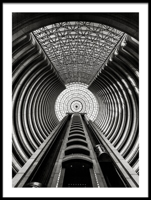 Art print titled Santiago De Chile - Tower by the artist Michael Jurek