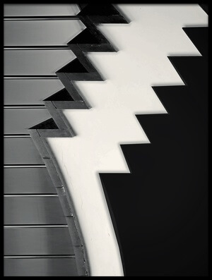 Buy this art print titled Sawtooth by the artist Henk van Maastricht