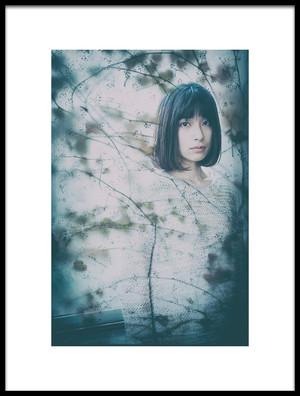 Art print titled Sayaka Nishide by the artist kk