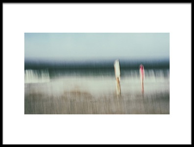 Art print titled Scenes from the Beach 2 by the artist carsten Velten