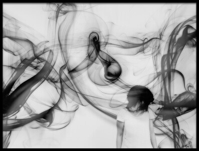 Art print titled Scream by the artist Keisuke Ikeda @ blackcoffee