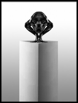 Art print titled Sculpture 2 by the artist Gavin Prest