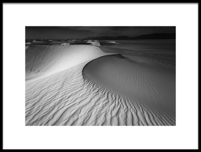 Art print titled Sculptured Sands by the artist Lydia Jacobs