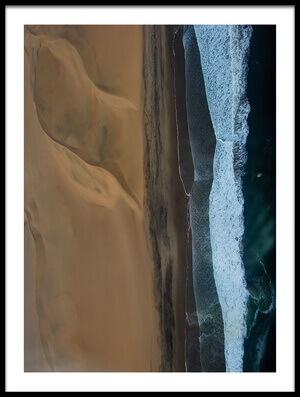 Art print titled Sea and Sand by the artist Luis Câmara