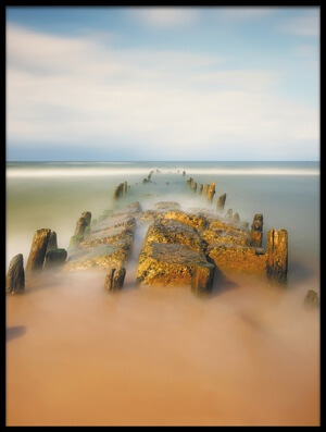 Buy this art print titled Sea Road by the artist Piotr Krol (Bax)