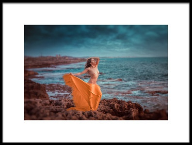 Art print titled Sea Scape by the artist Evgeny Loza