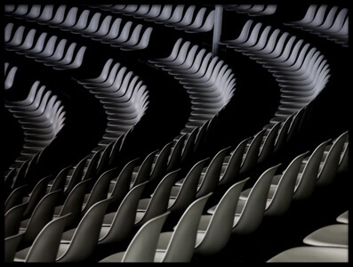 Buy this art print titled Seats by the artist Lili Dortolouie