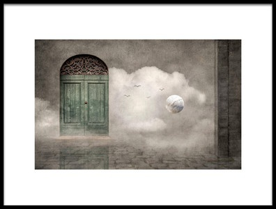 Art print titled Secret Door by the artist Christian MARCEL