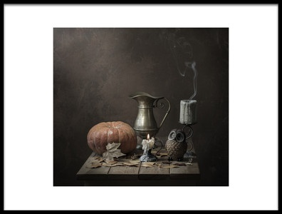 Art print titled Secret October by the artist Margareth Perfoncio