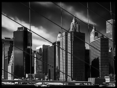 Buy this art print titled Seen from Brooklyn Bridge by the artist Benny Pettersson