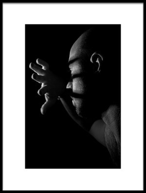 Buy this art print titled Self Portrait by the artist Hamed Khosroshahi