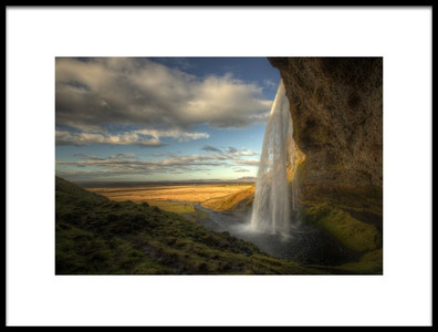 Buy this art print titled Seljalandsfoss by the artist Max Witjes