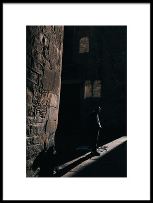 Buy this art print titled Seller of Nothing by the artist Ignasi Raventos