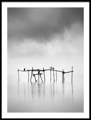 Art print titled Serenity by the artist George Digalakis