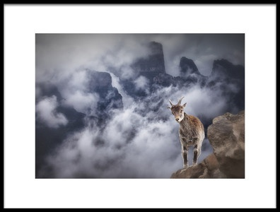 Art print titled Sesmien Mountains by the artist Marc Apers
