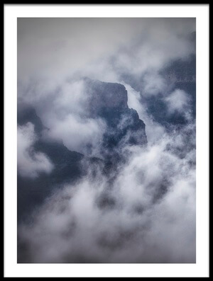 Buy this art print titled Sesmien Mountains by the artist Marc Apers