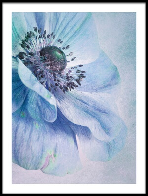 Art print titled Shades of Blue by the artist Priska Wettstein
