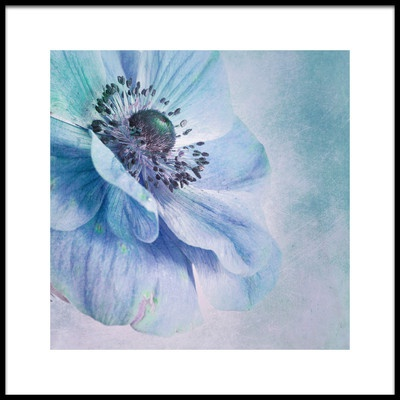 Buy this art print titled Shades of Blue by the artist Priska Wettstein