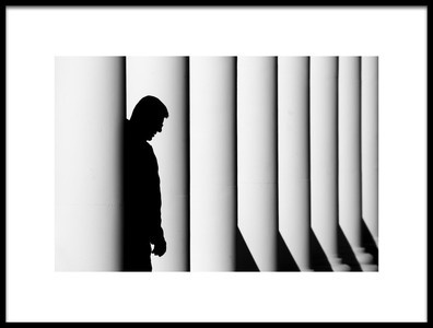 Art print titled Shadow by the artist Caner Başer