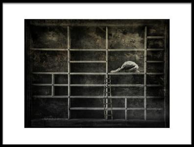 Art print titled Shadow Box by the artist jeffrey hummel