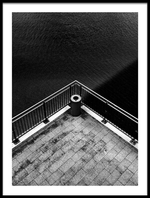 Buy this art print titled Shadow On the Water by the artist Rolf Endermann