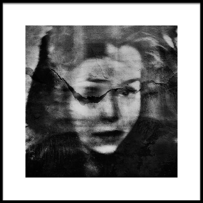 Art print titled Shadows Portraitsplitting by the artist Dalibor Davidovic