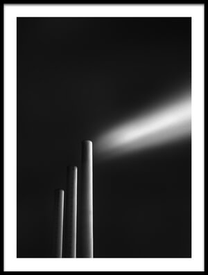 Buy this art print titled Shape of Smoke by the artist Dragos Ioneanu
