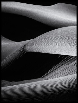 Art print titled Shapes of the Dunes by the artist Simon ChengLu