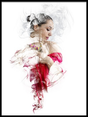 Art print titled She by the artist Liliana Tsanova