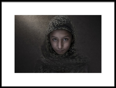 Art print titled Shiny Eyes by the artist Mohd176