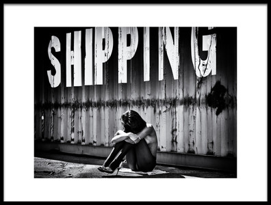 Art print titled Shipping by the artist Jürgen Hartlieb