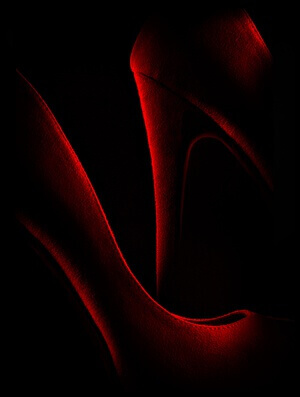Buy this art print titled Shoe In Red by the artist Don Clark